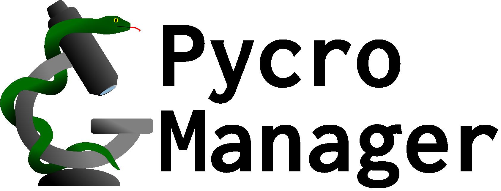 Pycro-Manager logo banner